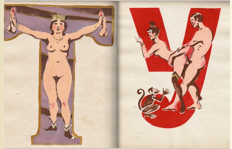 L'alphabet erotique de S. Mekurov
