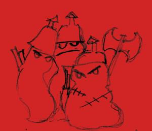 andouilles rouges